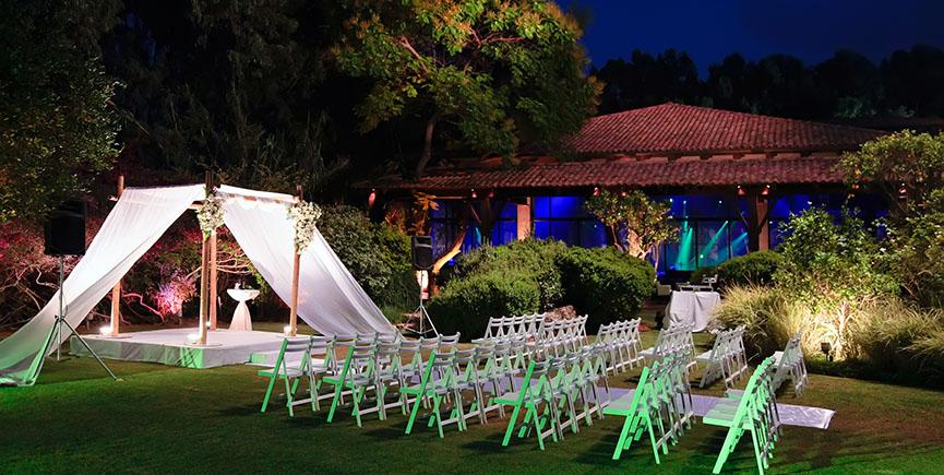 Jewish wedding ceremony canopy (chuppah or huppah)