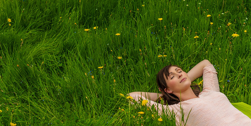female carefree spring start